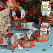 Festive Fun Paper Chains (50)